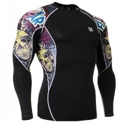 """""""El Cómic"""" - Camiseta Técnica de Compresión Segunda Piel FIXGEAR."""