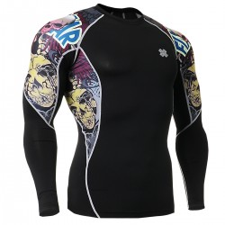 """The Comic"" - FIXGEAR Second Skin Technical Compression Shirt."