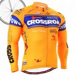 """CrossNaranjus"" - Maillot Ciclismo Manga Larga FIXGEAR."