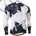 """""""Live Nature"""" - FIXGEAR Long Sleeve Cycling Jersey."""