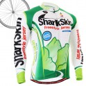 """Shark Skin"" - FIXGEAR Long Sleeve Cycling Jersey."