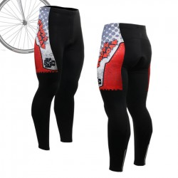 """Thorned Skull"" - FIXGEAR Long Cycling Pants."