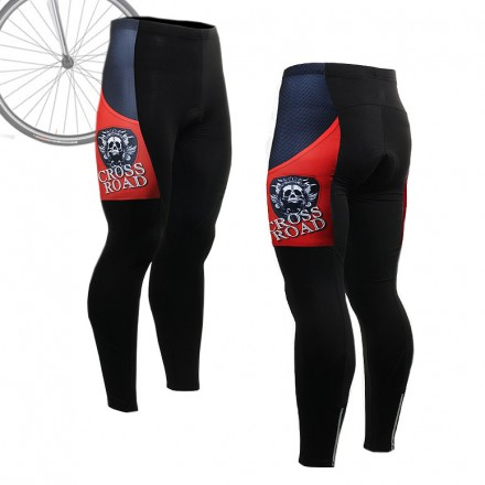 """Armadura Roja"" - Pantalón Largo de Ciclismo FIXGEAR."