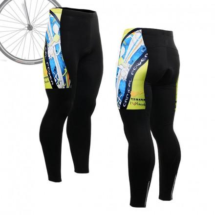 """The Skeleton"" Blue - FIXGEAR Long Cycling Pants."