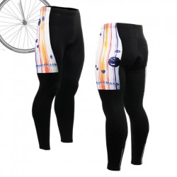 """Ribbons & Flames"" - FIXGEAR Long Cycling Pants."