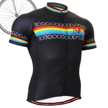 """Primary"" - FIXGEAR Short Sleeve Cycling Jersey."