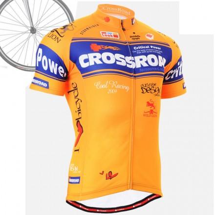 """CrossNaranjus"" - Maillot Ciclismo Manga Corta FIXGEAR."
