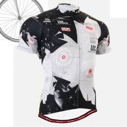 """""""Live Nature"""" - FIXGEAR Short Sleeve Cycling Jersey."""
