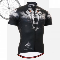 """Wolf Team"" - FIXGEAR Short Sleeve Cycling Jersey."