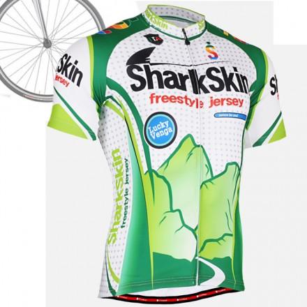 """Shark Skin"" - FIXGEAR Short Sleeve Cycling Jersey."