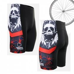 """Calavera Estrellada"" - Pantalón Corto de Ciclismo FIXGEAR."