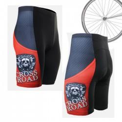 """Armadura Roja"" - Pantalón Corto de Ciclismo FIXGEAR."
