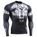 """Wolf Team"" - FIXGEAR Second Skin Technical Compression Shirt ."