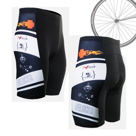 """Wolf Cross"" - FIXGEAR Short Cycling Pants."