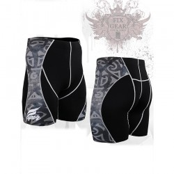 """Alien"" - FIXGEAR Second Skin Technical Compression Shorts ."