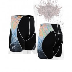 """Splash"" - FIXGEAR Second Skin Technical Compression Shorts ."