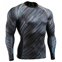"""Dark Traces"" - FIXGEAR Second Skin Technical Compression Shirt ."