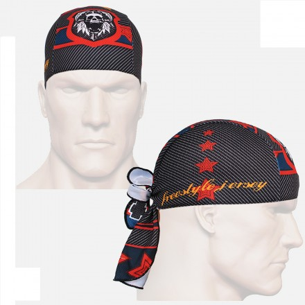 """Skull Star"" - FIXGEAR Cycling/Running/Training Bandana."