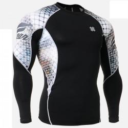 """""""The Net"""" - Camiseta Técnica de Compresión Segunda Piel FIXGEAR."""