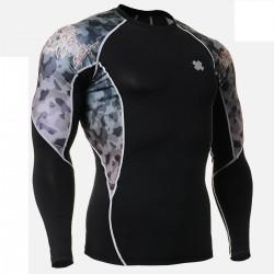 """Camuflaje"" - Camiseta Técnica de Compresión Segunda Piel FIXGEAR."
