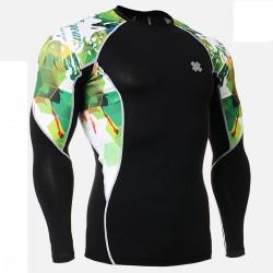 """Bosque Herido"" - Camiseta Técnica de Compresión Segunda Piel FIXGEAR."