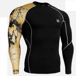 """CPB32"" - FIXGEAR Second Skin Technical Compression Shirt."