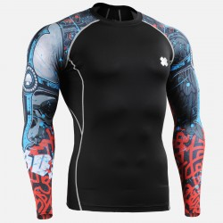 """The Chungo"" Sleeves  - FIXGEAR Second Skin Technical Compression Shirt ."