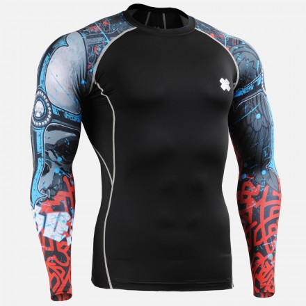 """""""The Chungo"""" Sleeves  - FIXGEAR Second Skin Technical Compression Shirt ."""