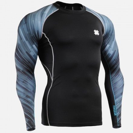 """""""Dark Traces"""" Sleeves  - FIXGEAR Second Skin Technical Compression Shirt"""