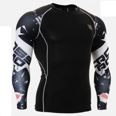 """""""Duo Cross Road""""  - FIXGEAR Second Skin Technical Compression Shirt ."""