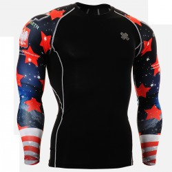 """CPDB10""  - FIXGEAR Second Skin Technical Compression Shirt ."