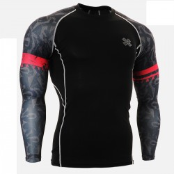 """Enigma"" Sleeves - FIXGEAR Second Skin Technical Compression Shirt ."