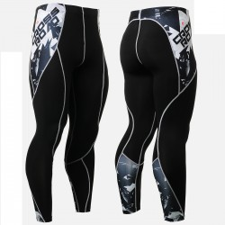 """Cross Road"" - FIXGEAR Second Skin Technical Compression Tights ."