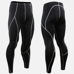 """BLACK FIX B"" Long - FIXGEAR Second Skin Technical Compression Tights"