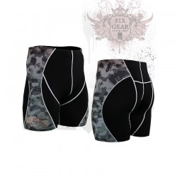 """Camouflage"" - FIXGEAR Second Skin Technical Compression Shorts ."