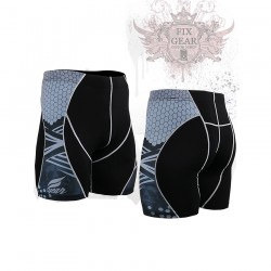 """The Hive"" - FIXGEAR Second Skin Technical Compression Shorts ."
