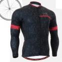 """CSG601"" - FIXGEAR Long Sleeve Cycling Jersey."