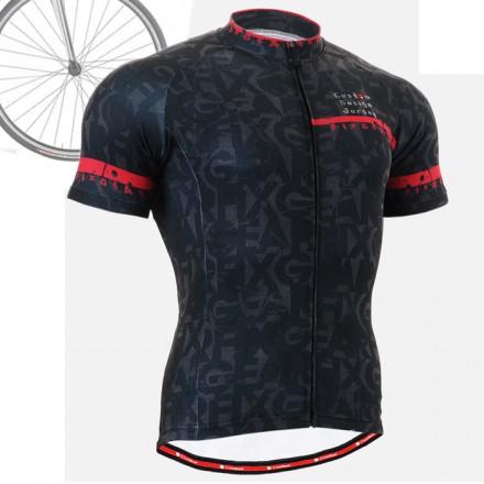 """CSG602"" - FIXGEAR Short Sleeve Cycling Jersey."