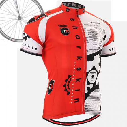 """CSG402"" - FIXGEAR Short Sleeve Cycling Jersey."