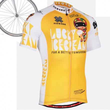 """CS31Y2"" - FIXGEAR Short Sleeve Cycling Jersey."