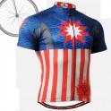 """Americanada"" - FIXGEAR Short Sleeve Cycling Jersey."