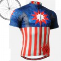"""Americanada"" - Maillot Ciclismo Manga Corta FIXGEAR."