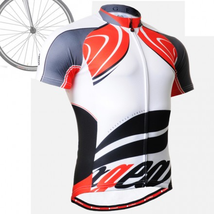 """CS3602"" - FIXGEAR Short Sleeve Cycling Jersey."