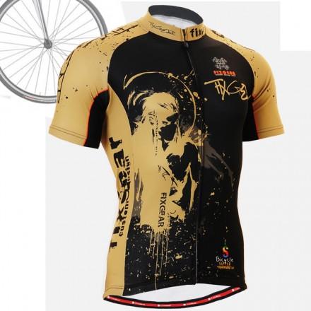 """CS3202"" - FIXGEAR Short Sleeve Cycling Jersey."