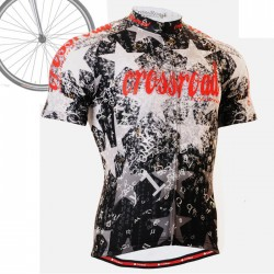 """CS2402"" - FIXGEAR Short Sleeve Cycling Jersey."