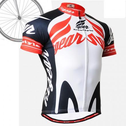 """""""Backdraft"""" - FIXGEAR Short Sleeve Cycling Jersey."""