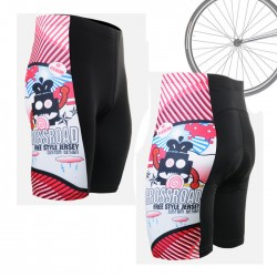 """Space Invaders"" - FIXGEAR Short Cycling Pants."