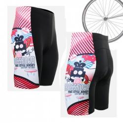 """""""Space Invaders"""" - Pantalón Corto de Ciclismo FIXGEAR."""