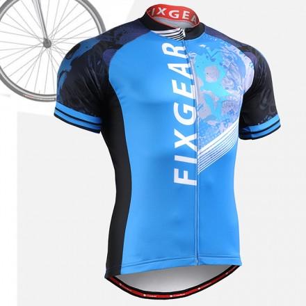 """CS4602"" - FIXGEAR Short Sleeve Cycling Jersey."