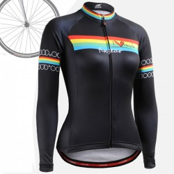 """Primary"" WOMAN - FIXGEAR Long Sleeve Cycling Jersey."